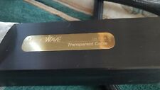 Transparent Audio MusicWave Ultra Speaker Cables (Rare 25 Foot Pair) with Spades