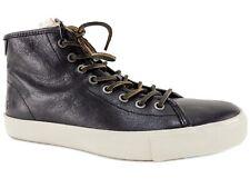 Frye Men's Brett High Top Sneakers Black Leather Size 8 M