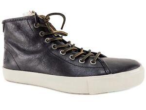 Frye Walker Midlace 80442 Mens Brown Leather High Top Lifestyle Sneakers Shoes