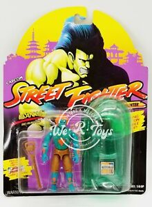 Street Fighter Blanka Bio-Warrior Action Figure 1993 Capcom No. 81072/6152 NRFP