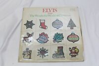 40 Christmas LP Vinyl Records Various Artists NO Duplicates Elvis Presley lot D
