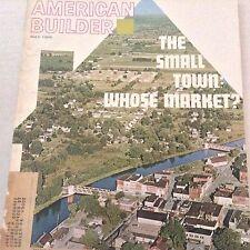 American Builder Magazine Small Town Markets May 1966 071317nonrh3