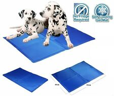 Dog Cat Pet Cooler Cool Gel Mat Bed Pad Self Cooling Non Toxic Heat Relief New