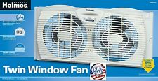 Dual Blade Twin Window Fan Air 2 speed House Exhaust Bathroom Kitchen Reversible
