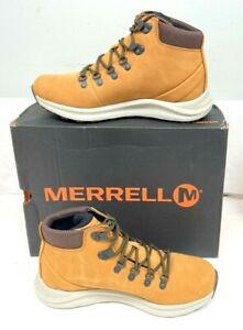 Merrell Ontario Mid Waterproof Brown Sugar 8 M US