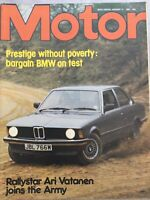 Motor Magazine - 17 January 1981 - BMW 316, Ari Vatanen, Georg Meier, Drag Racin
