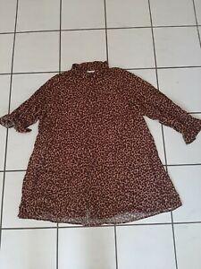 Kik Janina Long-Bluse Gr.56  (Leopardenmuster)  Schaut mal rein!!!