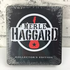 New Sealed Merle Haggard 3 Cd Box Set Collector's Edition