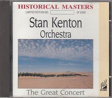 STAN KENTON ORCHESTRA - the great concert CD