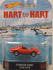 1/64 Hot Wheels Retro HART to HART Ferrari Dino 246GTS
