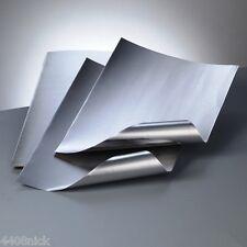 A4 ALUMINIUM EMBOSSING METAL SHEET SILVER / SILVER 0.15mm