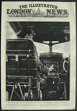 WWII  RAF Pilot Cockpit Controls Of A Flying Fortress 1941 1 Page Photo Article