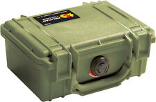New OD Green Pelican ™ 1150 empty Case includes free Engraved Nameplate Colors