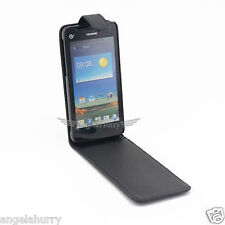 Premium Flip Leather Case Cover For Huawei Ascend G510