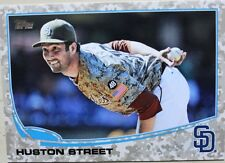 2013 Topps Series 2 HUSTON STREET #549 Camo Parallel Padres 88/99