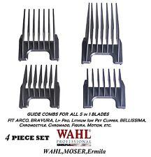 Wahl 5 in 1 Blade Attachment Guide COMB SET For ACADEMY,GENIO,BELLISSIMA,Beretto