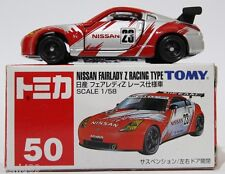 1:58 SCALE #55 TOMICA NISSAN FAIRLADY Z RACING TYPE RARE! TOMY 350Z