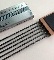 Vintage Eberhard Faber Microtomic 6100 9H 2mm Mechanical Artist Pencil 6pk Lead