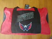 NHL Washington Capitals Duffle Bag Red 17x10x10 (New with tags)