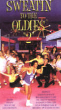 SWEATIN' TO THE OLDIES 2~AN AEROBIC CONCERT W/ RICHARD SIMMONS~90 VG/C VHS~WINDY