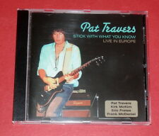 Pat Travers - Stick with what you know - Live in Europe -- CD / Rock