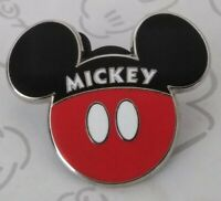 Mickey Mouse Icons Ears from Minnie Couples Set Red Black Disney Pin 115857
