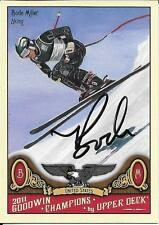 Bode Miller signed UD Goodwin Champions card - Team USA - Alpine Skiing