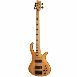 Schecter Riot Session 5 Aged Natural Satin ANS Electric Bass B-Stock Riot 5