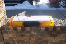 Whelen Edge 9000 mini amber/red light bar 28""