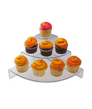3 Tier Cup Cake Stand Acrylic  Wedding Birthday Party Market Stall