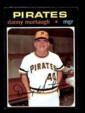 1971 Topps #437 Danny Murtaugh Pirates NEAR MINT *y5