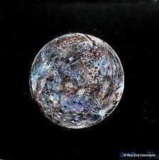 Planète Mercure-Original Oil Painting Artwork Par GM Jones-Espace Globe Astronomie