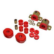 Energy Suspension Sway Bar Bushing Kit 5.5140R; 24mm Front Red for Dodge Trucks
