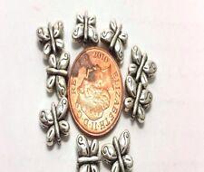 30 x Tibetan Silver Butterfly Alloy Beads -A0641