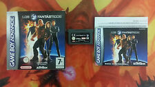 LOS 4 FANTÁSTICOS GAME BOY ADVANCE GBA COMBINED SHIPPING