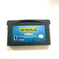 Shrek 2: Beg for Mercy (Nintendo Game Boy Advance, 2004) GBA TESTED & Working!