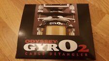 NOS BMX ODYSSEY GYRO 2 II SPINNER DETANGLER *CHROME*