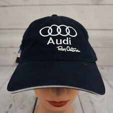 Audi Ray Catena Hat Blue Stitched Adjustable Baseball Cap Pre-Owned ST23
