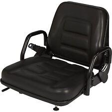 Concentric Universal Fold-Down Fork Lift Seat — Black, Model# 355102BK03 #GE