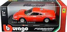 FERRARI 246 GTB 1:24 Scale Diecast Car Metal Model Die Cast Cars Models