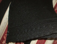 Black jumper size 12 -14 ISABELLE  glitzy thread, in very good condition