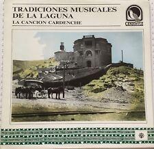 TRADICIONES MUSICALES DE LA LAGUNA -LA CANCION CARDENCHE- MEXICAN LP GATEFOLD