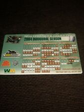 2004 New Hampshire Fisher Cats Inaugural Season Magnetic Schedule