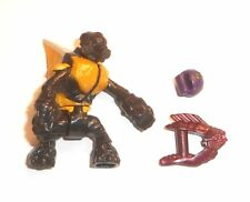 Halo Mega Bloks Figures ~ 2013 Covenant Grunt (jaune) avec Needler & Grenade