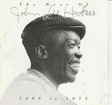 John Lee Hooker – The Best Of John Lee Hooker (1965 To 1974) CD