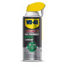 WD40 Specialist High Performance PTFE Lubricant Spray 400ml Aerosol Smart Straw