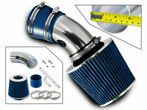SPORT AIR INTAKE KIT + BLUE FILTER For Chevy 98-05 Monte Carlo / Impala 3.8L