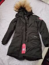 Women's CANADA GOOSE Rossclair Parka, Small, Black