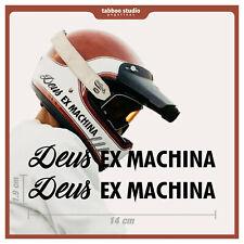 Pegatinas Deus ex Machina casco moto cafe racer tanque custom stickers vinilo