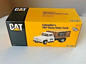 ERTL 1/25 Scale Cat - Caterpillar 1957 Chevy Stake Truck (1996) - LNIB